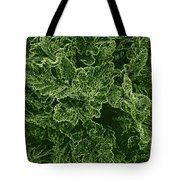 Poppy Leaves Tote Bag