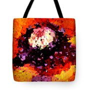 Poppy Mosaic Tote Bag