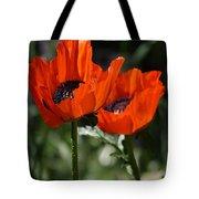 Poppy Pair Tote Bag