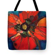 Poppy Passion Tote Bag