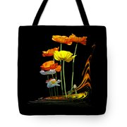Poppy Pirouette Tote Bag