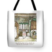 Poppy Puts On Her Wedding Dress Tote Bag