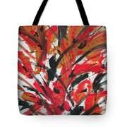 Poppy Storm Tote Bag