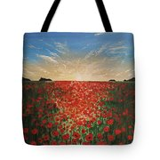 Poppy Sunset Tote Bag