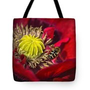 Poppy Visited Part II Tote Bag