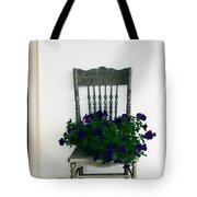 Porch Flowers Tote Bag