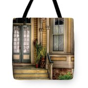 Porch - House 109 Tote Bag by Mike Savad