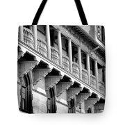 Porches Of Flagler College Tote Bag