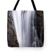 Porcupine Falls Closeup Tote Bag