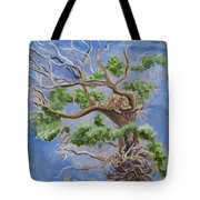Porcupine In Cottonwood Tote Bag