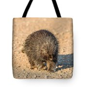 Porcupine Walking Tote Bag