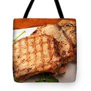 Pork Chop. Tote Bag