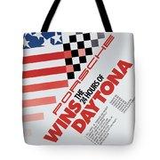 Porsche 24 Hours Of Daytona Wins Tote Bag