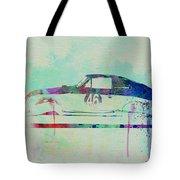 Porsche 356 Watercolor Tote Bag