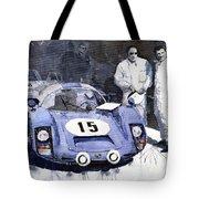 Porsche 906 Daytona 1966 Herrmann-linge Tote Bag by Yuriy  Shevchuk