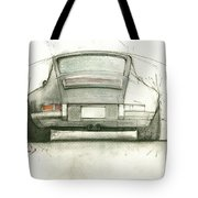 Porsche 911 Rs Tote Bag