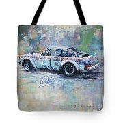 Porsche 911 Sc  Rallye Sanremo 1981 Tote Bag