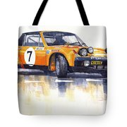 Porsche 914-6 Gt Rally Tote Bag