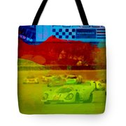 Porsche 917 Racing Tote Bag