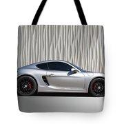 Porsche Beautiful Dream Sports Car Tote Bag