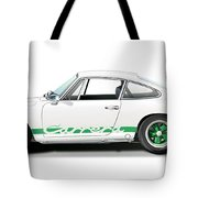 Porsche Carrera Rs Illustration Tote Bag