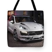Porsche Cayenne Tote Bag