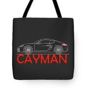Porsche Cayman Phone Case Tote Bag