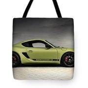 Porsche Cayman R Tote Bag