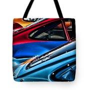 Porsche Fins Tote Bag