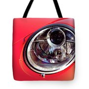 Porsche Headlight Tote Bag