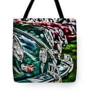 Porsche Row Tote Bag