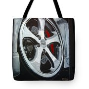 Porsche Techart Wheel Tote Bag
