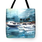 Port Alcudia Harbour 01 Tote Bag