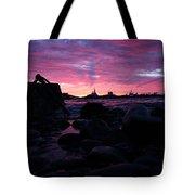 Port Angeles Harbor Eleven Tote Bag