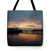 Port Angeles Sunrise Tote Bag