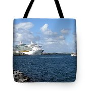 Port Canaveral In Floirda Tote Bag