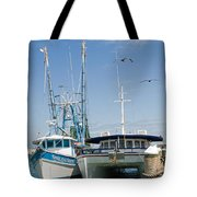 Port Canaveral On The East Coast Of Florida Tote Bag