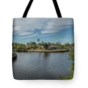 Port Charlotte Adhenry Waterway From Midway Tote Bag