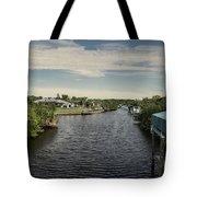 Port Charlotte Atlantus Waterway From Ohara Tote Bag