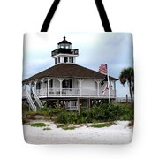 Port Charlotte Harbor Lighthouse Tote Bag