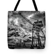 Port Crane Tote Bag