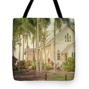 Port Douglas Beach Chapel Tote Bag