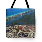 Port Everglades Florida Tote Bag