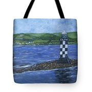Port Glasgow, Perch Lighthouse Tote Bag