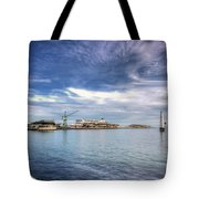 Port Melbourne Harbour Tote Bag