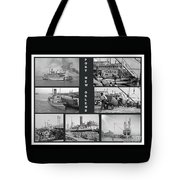 Port New Orleans Tote Bag