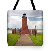 Port Of Kissimmee Lighthouse In Central Florida Tote Bag