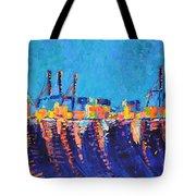 Port Of Malaga Tote Bag