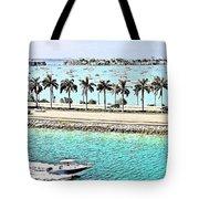 Port Of Miami - Miami, Florida Tote Bag