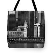 Port Of San Francisco Tote Bag